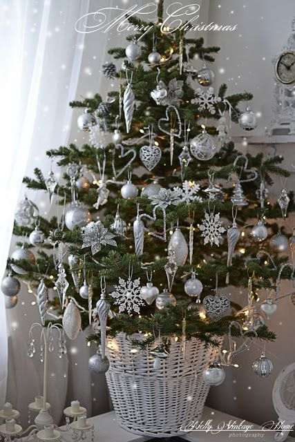 Black Silver Christmas Tree